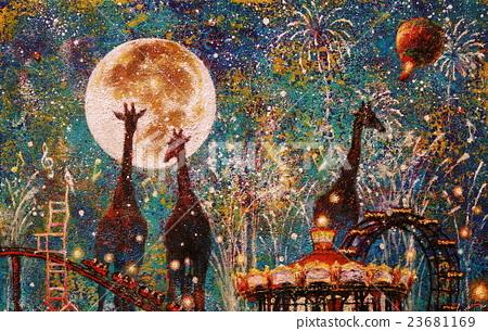 밤의 유원지 23681169