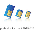 Mobile phone sim card set 23682011