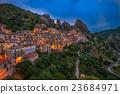 Castelmezzano at night, Basilicata, Italy 23684971