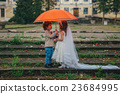 two funny little bride and groom 23684995
