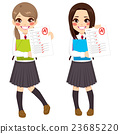 Student Girls Test Results 23685220