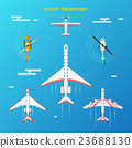 aircraft, airplane, plane 23688130