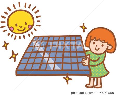 太陽能發電 太陽能 光伏 23691660