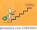 succeed, business, vector 23693602