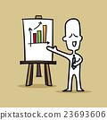 Businessman presenting about gain profit 23693606
