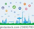 城市 城鎮 互聯網 23693783
