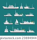 Ships flat set 23694944