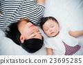모자, 소녀, 아기 23695285