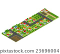 Isometric perspective farms 23696004
