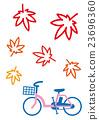 autumn, autumnal, bicycle 23696360