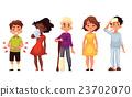 Sick children - cold chieckenpox broken leg 23702070