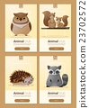 Set of Wild animal templates for web design 3 23702572