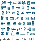 Home electronics icon 23703843