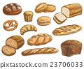 麵包 ICON 圖示 23706033