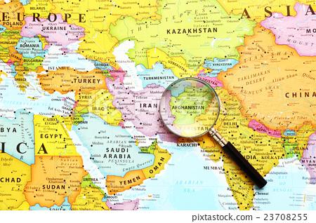 세계지도 아프가니스탄 23708255