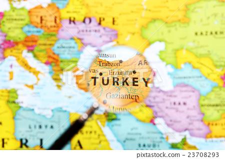 세계지도 터키 23708293
