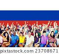 Russia Flag Patriotism Russian Pride Unity Concept 23708671