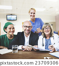 Doctor Team Treatment Plan Discussion Concept 23709306