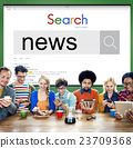 News Information Announcement Broadcast Media Concept 23709368