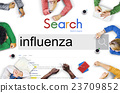 Influenza Cold Fever Flu Illness Concept 23709852