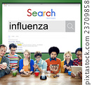 Influenza Cold Fever Flu Illness Concept 23709858