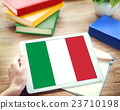 Italy Country Flag Liberty National Concept 23710198