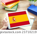 Browsing Network Internet Spain Flag Concept 23710219