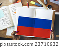 Russia Flag Patriotism Russian Pride Unity Concept 23710932