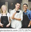 Cafeteria Barista Cafe Occupation Restaurant Concept 23711674