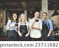 Cafeteria Barista Cafe Occupation Restaurant Concept 23711682