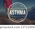 Asthma Allergy Bronchial Breathing Concept 23712068