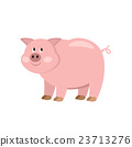 Cartoon cow 23713276