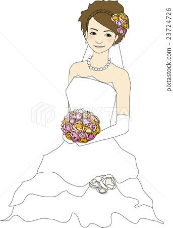 矢量 新娘 婚禮 23724726