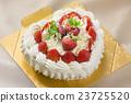 心 草莓蛋糕 蛋糕 23725520