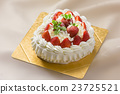 心 草莓蛋糕 蛋糕 23725521