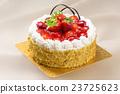 蛋糕 草莓蛋糕 磅装蛋糕 23725623