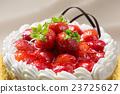 蛋糕 草莓蛋糕 磅装蛋糕 23725627