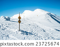 path in snowy Alps 23725674
