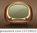 Retro vintage TV in the style of the 50s - 60s 23729022