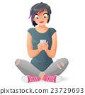 手機 女性 女 23729693