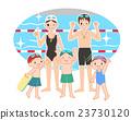 游泳課 笑容 笑臉 23730120