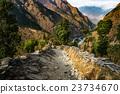 nepal, annapurna, canyon 23734670