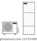 白底 矢量 電力 23735489
