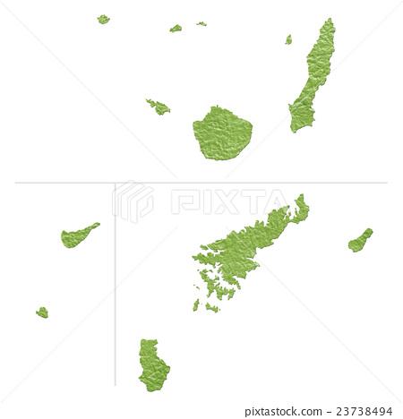 Kagoshima Prefecture Map 2 23738494