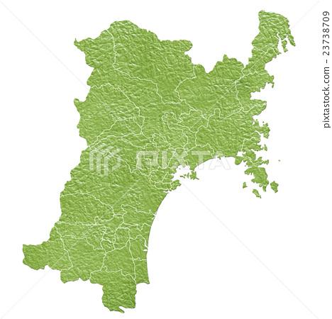 Miyagi Prefecture Map 23738709