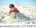 海滩 儿童 孩子 23739879