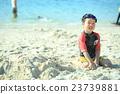 海滩 儿童 孩子 23739881