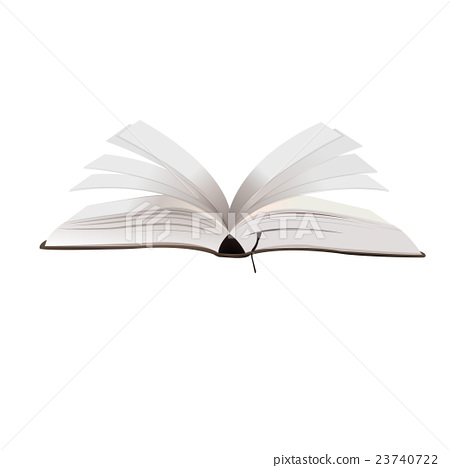 opened book vector illustration 23740722