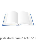 opened book vector illustration 23740723