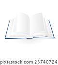 opened book vector illustration 23740724
